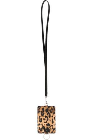 Dolce & Gabbana Portacarte leopardato