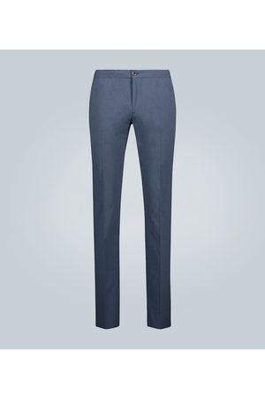 Incotex Pantaloni slim in cotone stretch