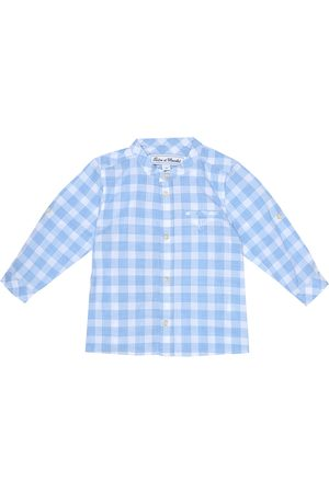 Tartine Et Chocolat Baby - Camicia a quadri in cotone