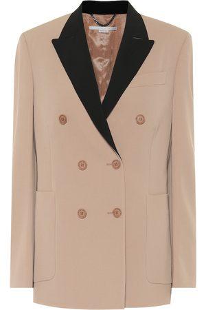 Stella McCartney Blazer doppiopetto in lana
