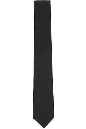 HUGO BOSS Italian-made tie in silk jacquard