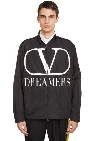 "VALENTINO Giacca ""v Logo Dreamers"" Con Stampa"