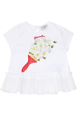 MONNALISA Baby - T-shirt a stampa in cotone