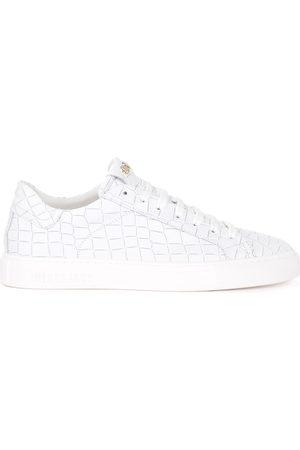 HIDE&JACK Sneaker Tuscany Croco da uomo in pelle bianca