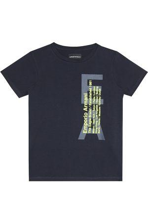 Emporio Armani T-shirt a stampa in cotone