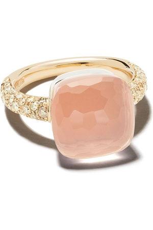 Pomellato Anello in oro 18kt con pietre preziose - PINK