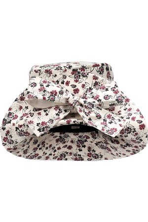 Miu Miu Cappello a stampa floreale in cotone