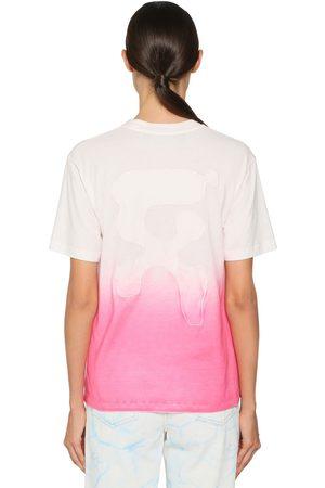 OFF-WHITE T-shirt In Jersey Di Cotone Dégradé