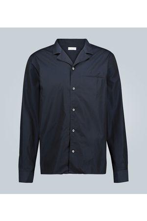 CARUSO Camicia in cotone a maniche lunghe