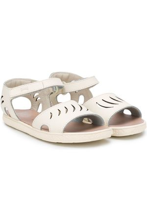 Camper Kids Sandali con dettaglio cut-out - Color carne