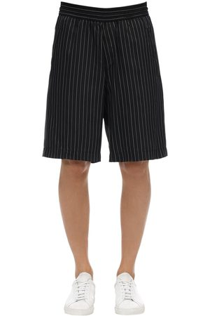Neil Barrett Shorts Oversize In Cupro E Viscosa