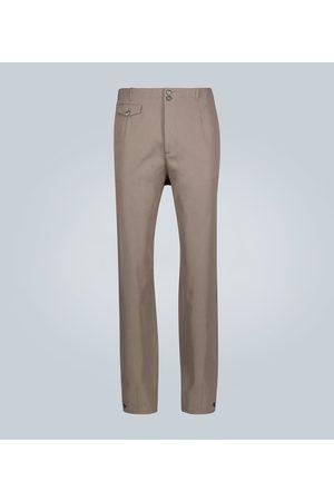 Rochas Pantaloni in misto lana