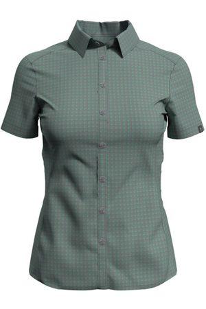 Odlo Kumano Check - camicia a maniche corte - donna. Taglia M