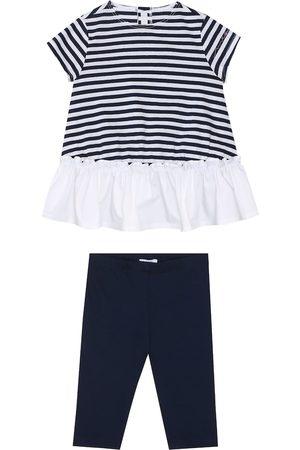 Il gufo Baby - T-shirt e pantaloni in cotone