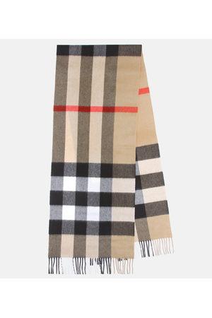 Burberry Donna Sciarpe - Sciarpa Mega Check in cashmere
