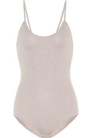Stella McCartney Donna Body - Body in maglia lamè