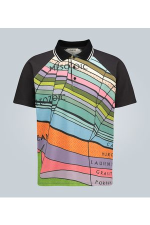 Phipps Polo con stampa Geological