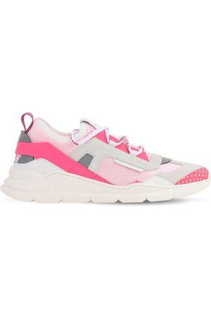 Dolce & Gabbana Sneakers Slip-on In Maglia E Camoscio