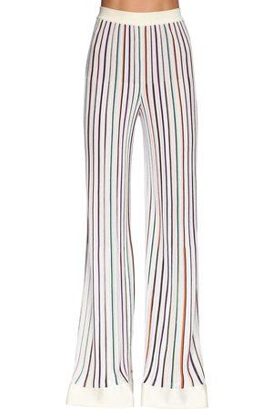 Missoni Pantaloni In Maglia Stretch