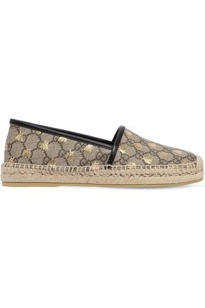 "Gucci Donna Espadrillas - Espadrilles ""gg Supreme"" In Tela 20mm"