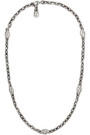 Gucci Collane - Collana in argento con GG