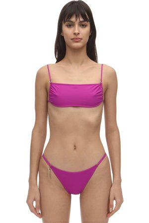 Stella McCartney Top Bikini Con Spallini Sottili