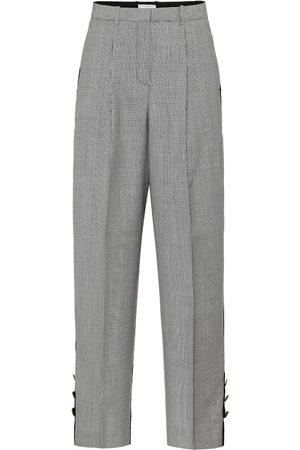 Givenchy Pantaloni in lana pied-de-poule