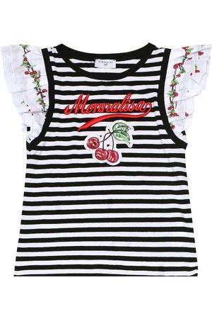 MONNALISA T-shirt a righe in cotone