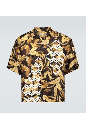 CMMN SWDN Camicia Kim Geometric in seta