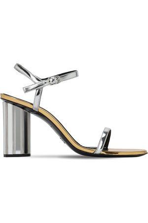 Proenza Schouler Sandali In Eco Vernice Metallizzata 90mm