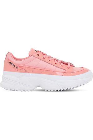 "adidas Sneakers ""kiellor"" In Pelle Spalmata"