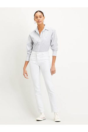 Levi's Donna Straight - 724™ High Rise Straight Jeans Neutral / Western White