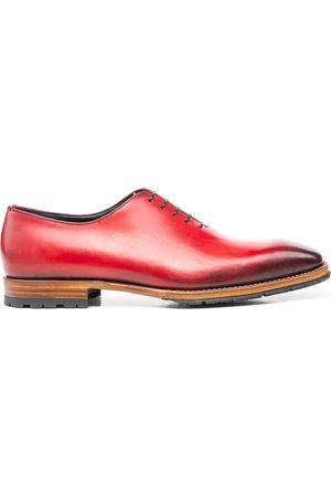 Design Italian Shoes Uomo Stringate e mocassini - Cesare - Francesina Liscia Calf Crust Rosso