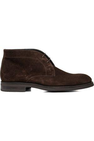 Design Italian Shoes Uomo Polo - Marco Polo - Polacchino uomo scamosciato testa di moro
