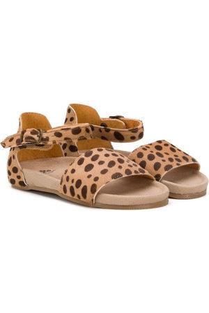Pèpè Sandali leopardati