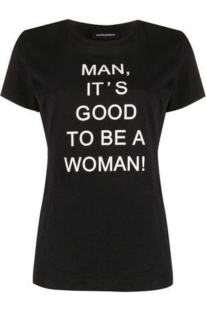 "Marlies Dekkers Donna T-shirt - "" T-shirt Man, It's Good To Be A Woman"""