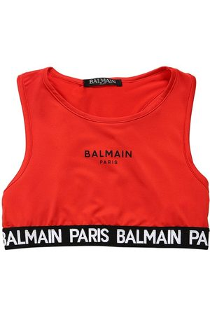 "Balmain Top ""racerback"" In Lycra"