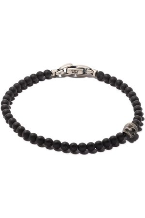 David Yurman Uomo Bracciali - Bracciale con teschio 'Spiritual Beads' - SSBBO