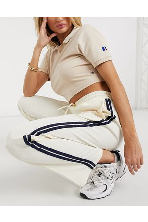 Russell Athletic Archive - Joggers color crema