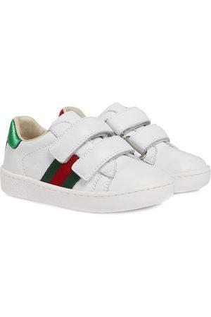 Gucci Kids Sneakers con dettaglio Web