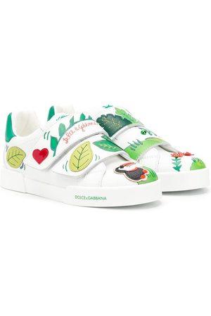 Dolce & Gabbana Sneakers con stampa tropicale - Di colore