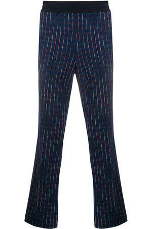 Missoni Pantaloni taglio straight con ricamo