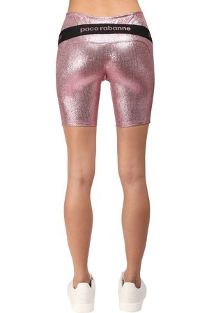 Paco rabanne Shorts Cycling In Lurex Stretch