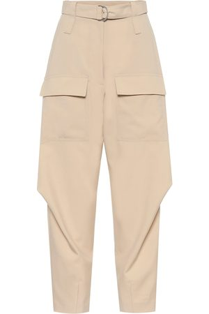 Stella McCartney Donna Eleganti - Pantaloni Adaline a vita alta in lana