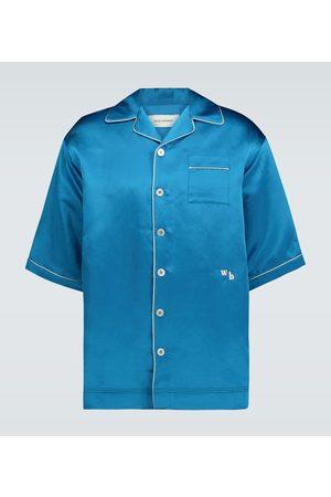 WALES BONNER Camicia in raso