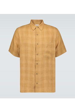 Nanushka Camicia Adam in lino