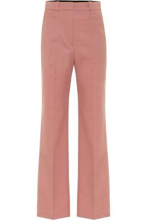 AlexaChung Pantaloni in misto lana