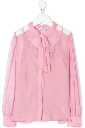 Dolce & Gabbana Blusa semi trasparente