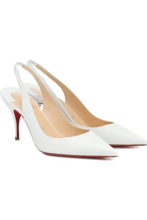 Christian Louboutin Pumps slingback Clare Sling 80 in pelle