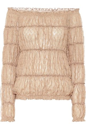 Missoni Blusa in maglia lamé
